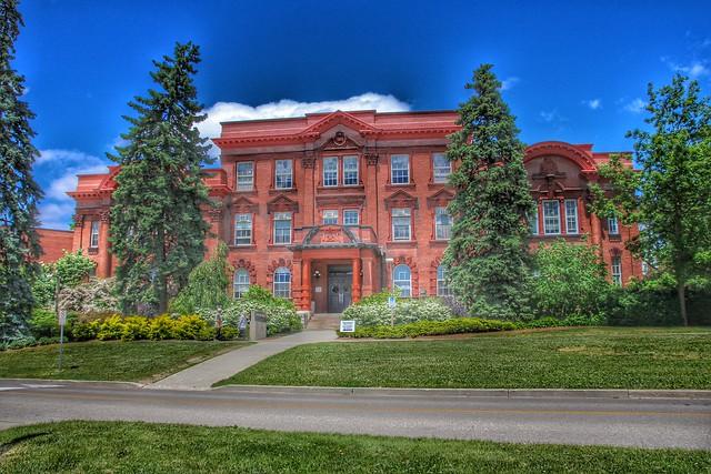 Guelph Ontario - Canada - University of Guelph - MacDonald Institute Building