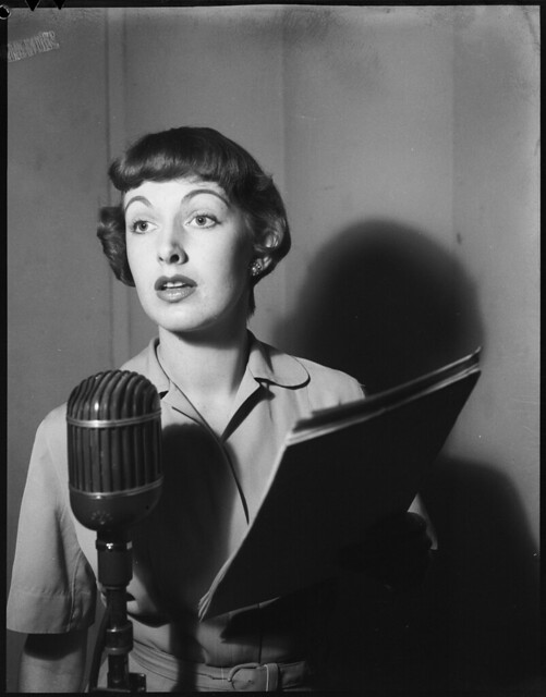 Margo Lee, television story, 1951, by Eric Francis