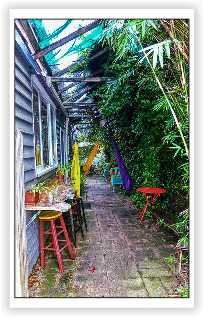 Café Courtyard, Warren Road, Nannup, Western Australia