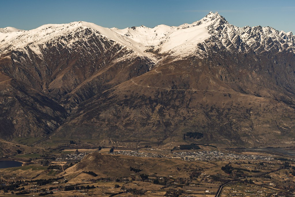 The Remarkables Mountain Range, up close and personal