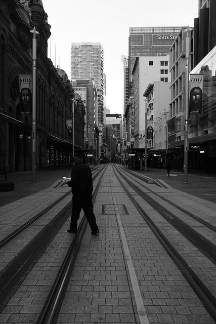 Sydney lockdown 2021 - ghost town