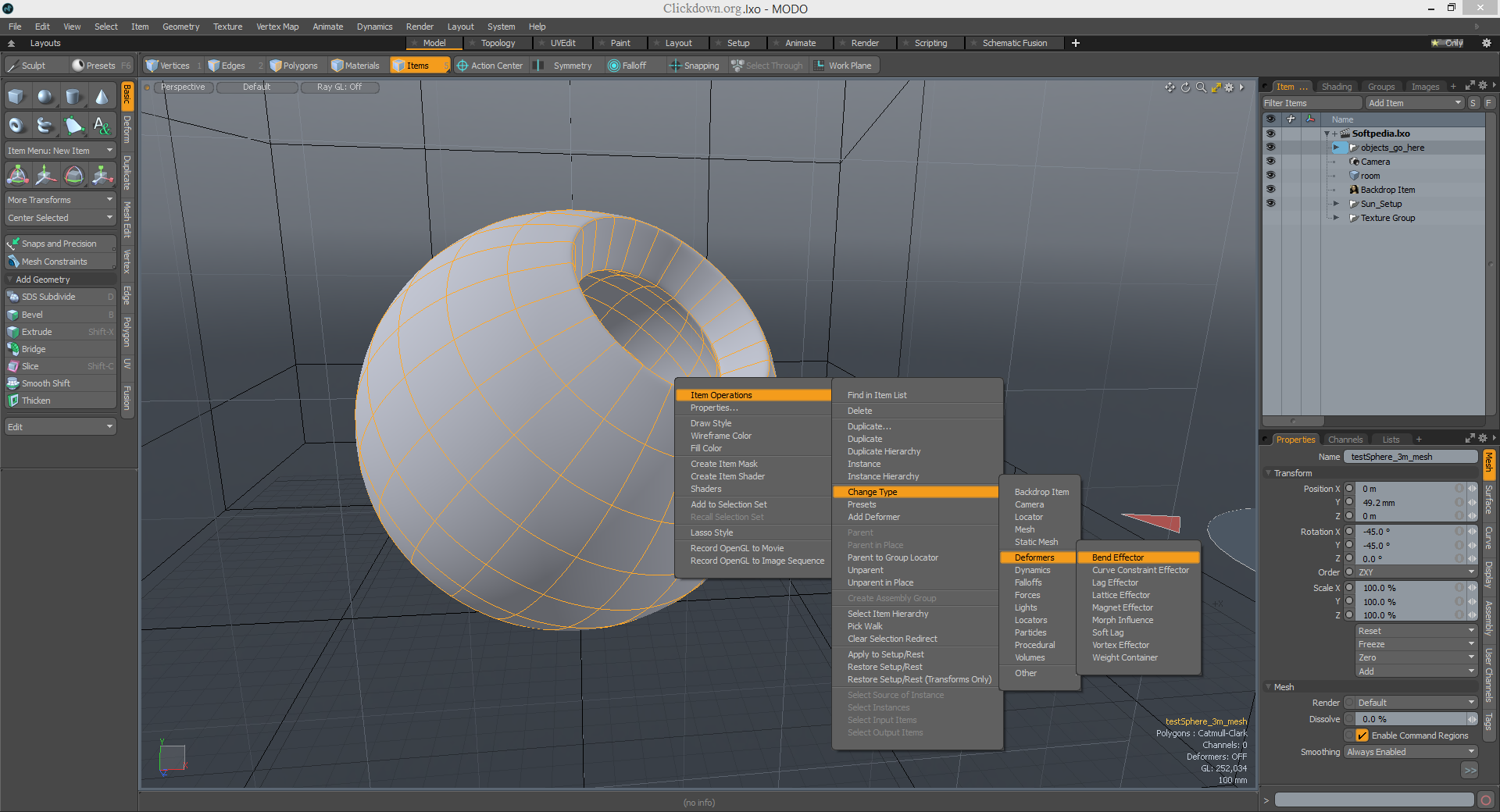 Working with The Foundry Modo 15.1v1 full