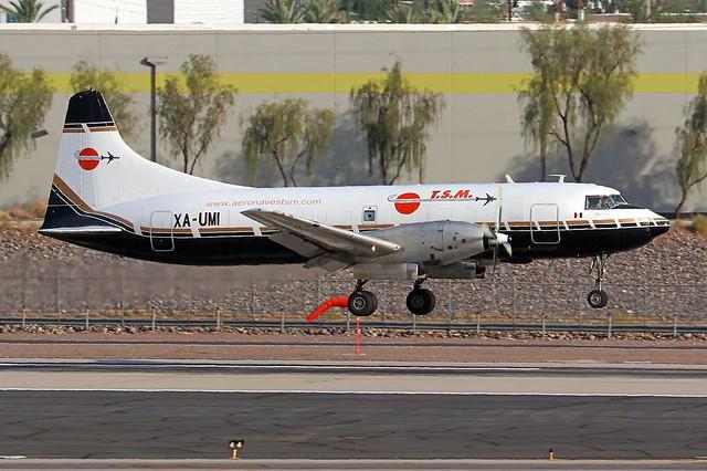 XA-UMI   Convair CV-640(F)   Aeronaves TSM