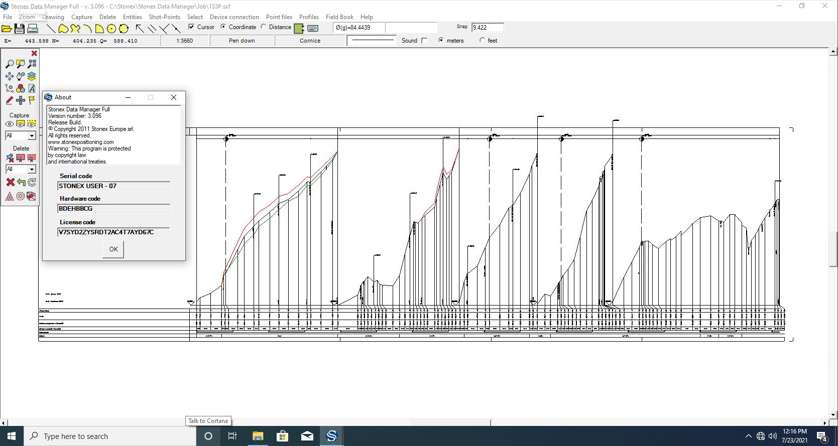 Working with Stonex Data Manager v3.096 full