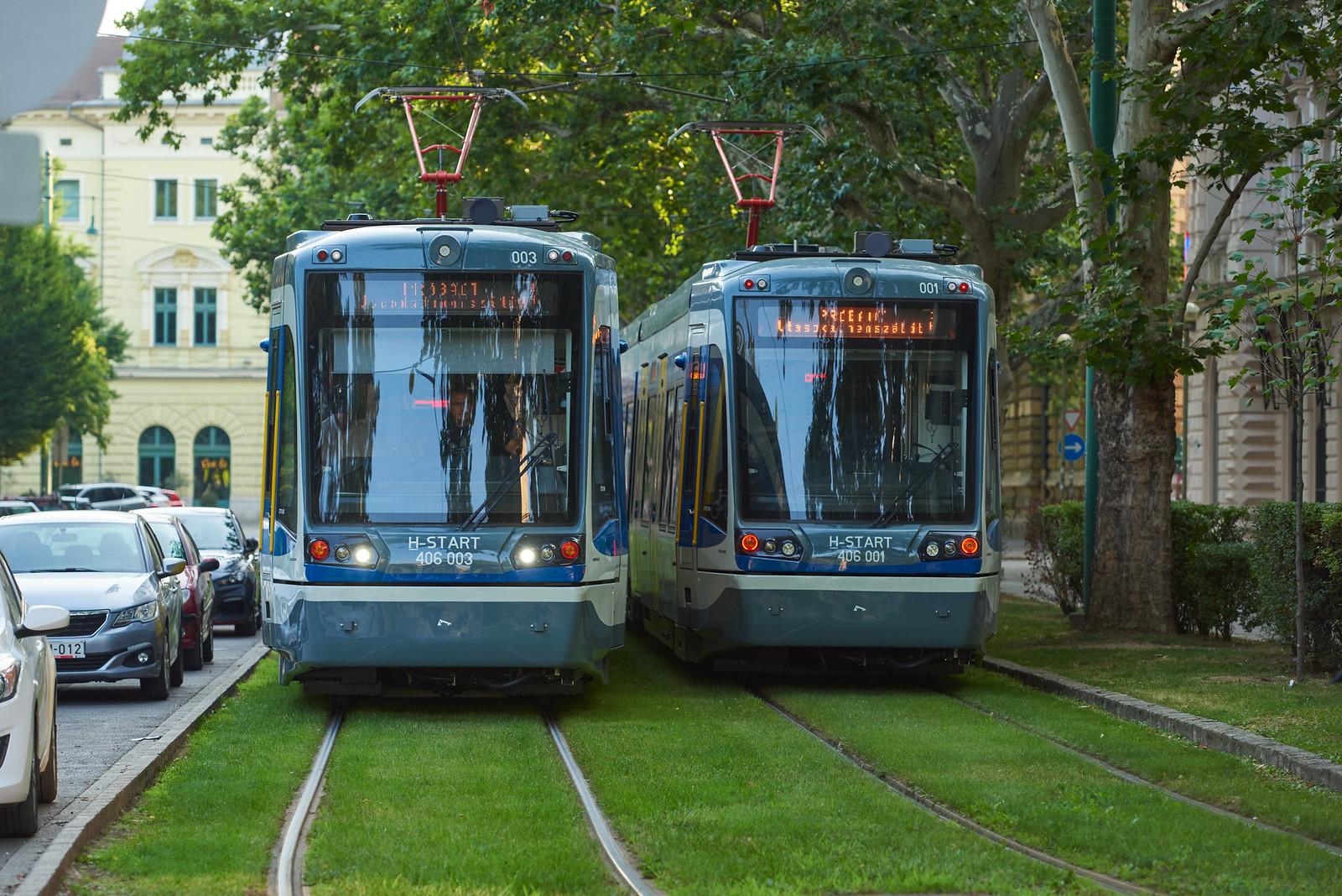 Már a szegedi villamoshálózaton járkálnak a tramtrain-szerelvények