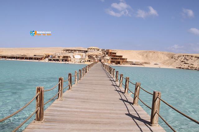 Viagem de Vela de Luxo Hurghada para Orange Bay Passeio com Snorkel