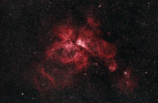 NGC 3372 or the Carina Nebulae.