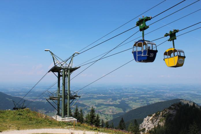 Unikátní lanovky v Bavorsku (2. část)