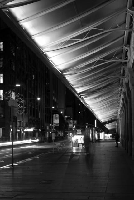 Queen Victoria Building Sydney, lockdown 2021