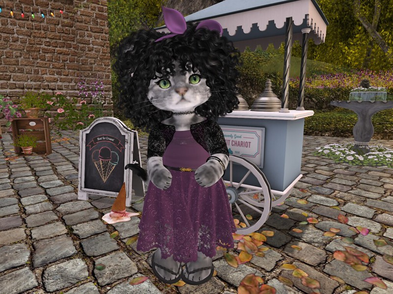 """Stylist, Model, and Photographer: Nessa Vella. Blog post with pic, details and links <a href=""""https://pieni.art/nessa-more-lucy/"""" rel=""""noreferrer nofollow"""">here</a>. <a href=""""maps.secondlife.com/secondlife/Dizza/116/211/21"""" rel=""""noreferrer nofollow"""">Location</a>."""