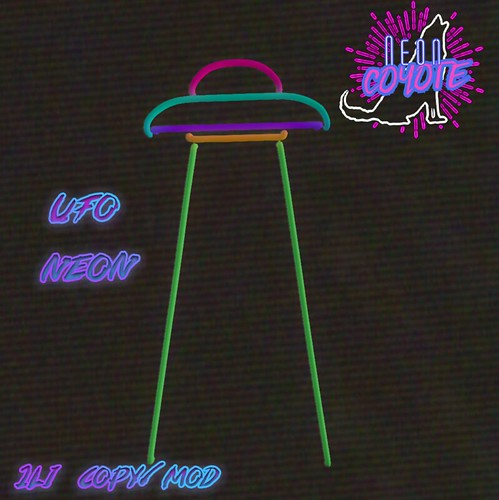 neonCOYOTE - ufo neon for the summer nights hunt