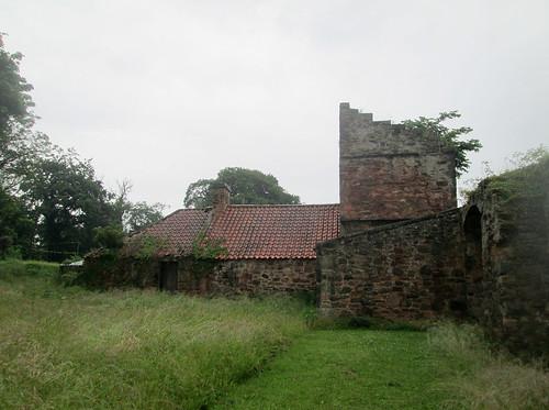 Redhouse Castle, Lothians, Scotland