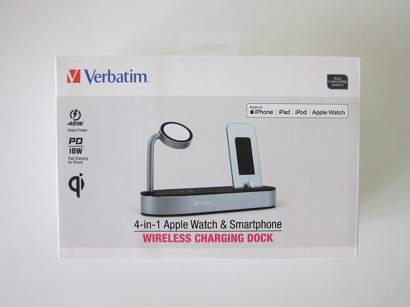 Verbatim 4-in-1 Wireless Charging Dock - Box Front