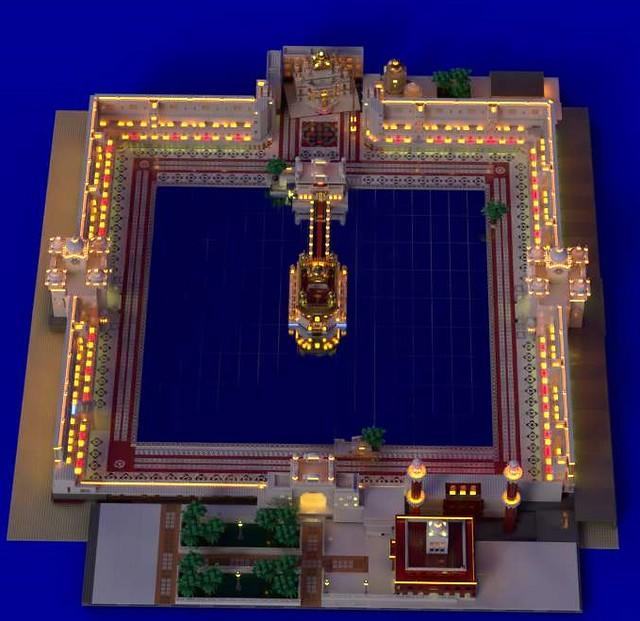 DARBAR SAHIB-THE GOLDEN TEMPLE AMRITSAR @lego @architecture