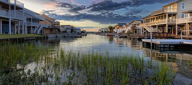 Sunset @ Sunset Beach, North Carolina