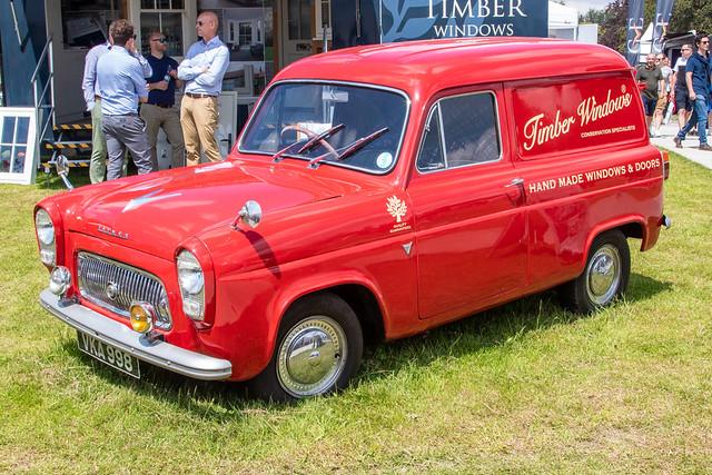 Goodwood Festival of Speed 2021 - 1956 Ford Thames Van (VKA 998)