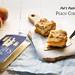 Pat's Pastries Peach Cobbler words