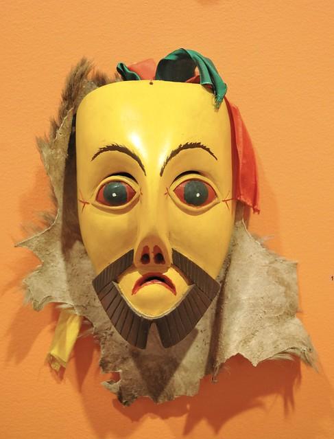 Charapan Michoacan Mask Mascara Mexico Purepecha