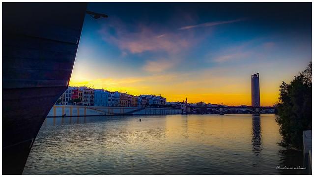 Atardecer en el muelle de la sal. // Sunset at the salt dock.(EXPLORE 23/07/2021).