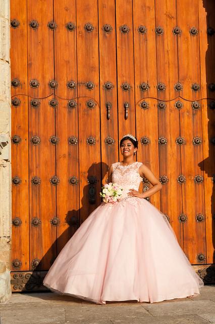 Quinceanera in Pink, Oaxaca