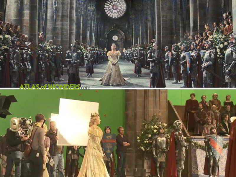 Where was Snow White and the Huntsman filmed