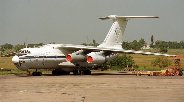 Ilyushin Il-76TD UR-76727 Volare Air Company UKON 26052002