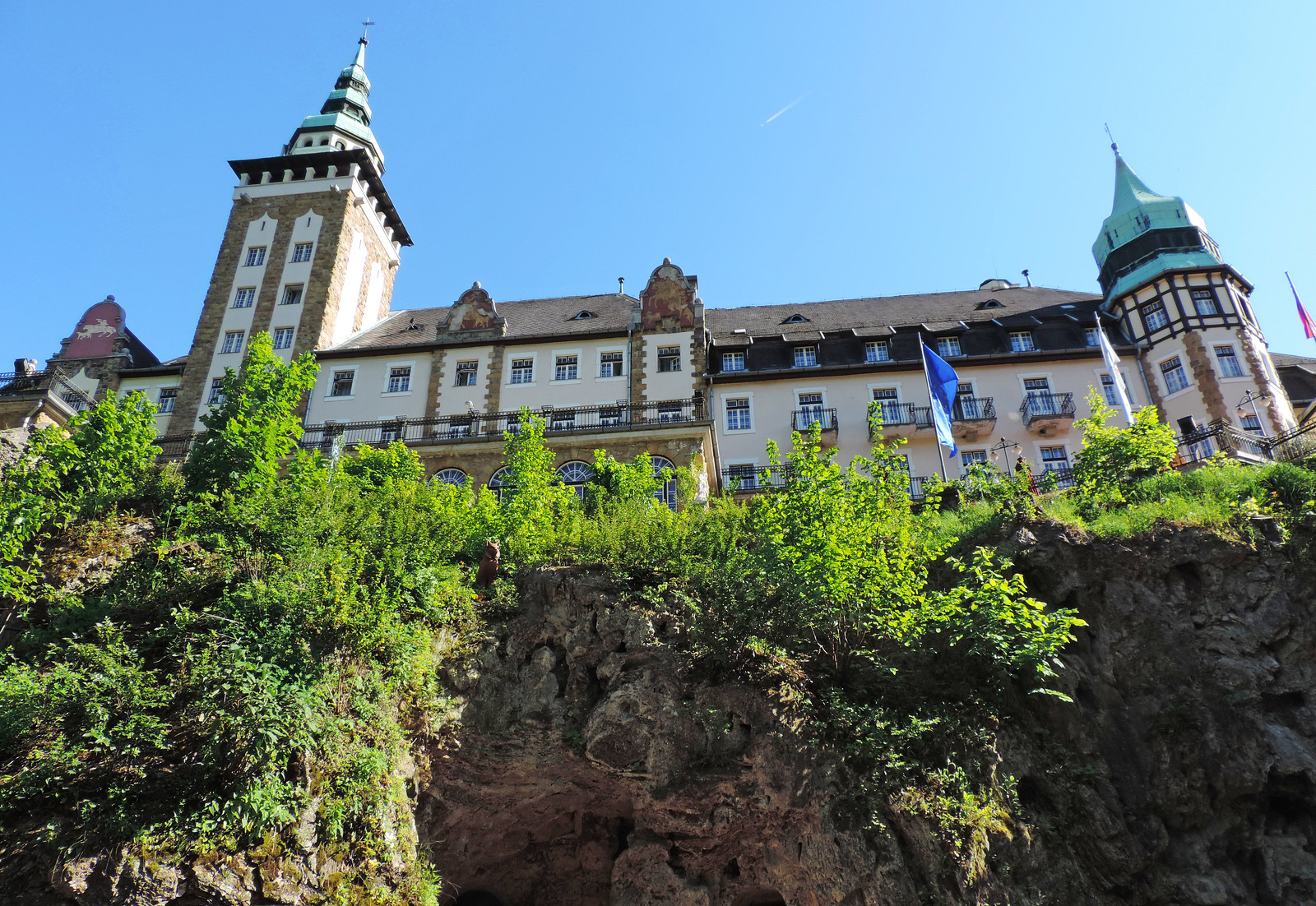 Palace hotel of Lillafüred, Hungary