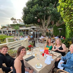 Good friends + milestones + #Malibu = Happy Birthday @lynndgivens!