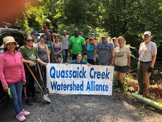 Quassaick Creek Tree Planting