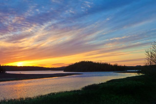 Sunset, Great Northern Peninsula, Newfoundland