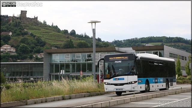 Solaris InterUrbino – Faure / Les Cars du Rhône