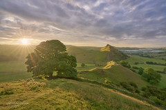 Early sunrise and peace in the Peak District