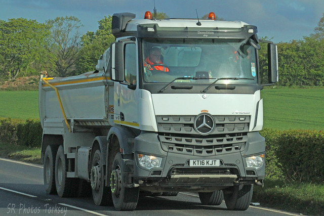 Mercedes Arocs Tipper KT16 KJT