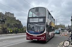 Lothian Buses Volvo B9TL Wright Eclipse Gemini SN08BXY 908