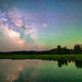 Milky Way Reflections, Oxbow Bend