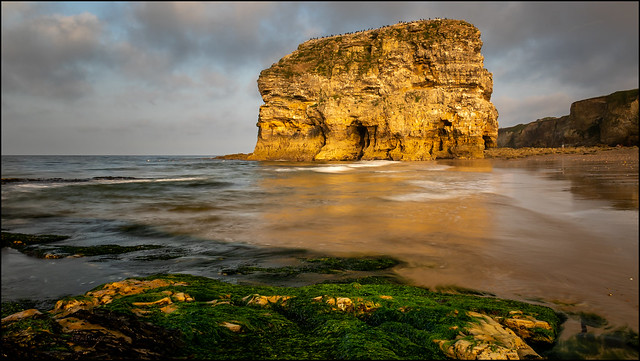 Marsden Rock, North East England