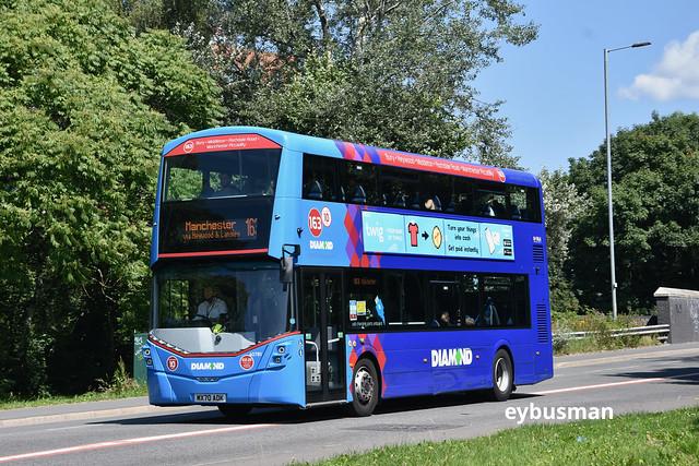 Rotala Diamond Bus North West 40781, MX70AOK.