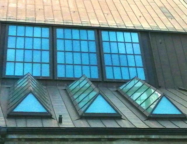 Sky blue windows