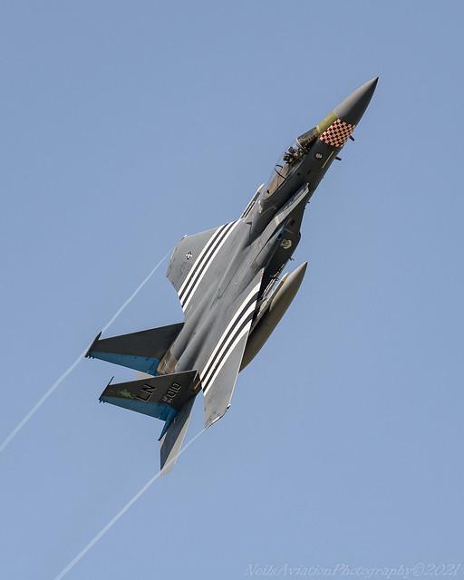 F-15C 493rd FS Heritage Markings