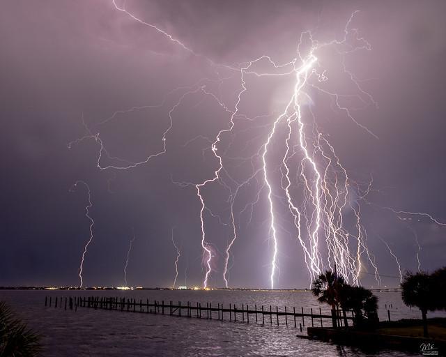 1500 Strikes of lightning?