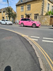 K155 ACO Bright Pink Land Rover Range Rover Sport TD V6 HSE A 2.7 Diesel
