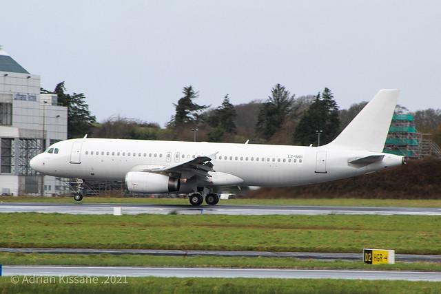 FLY2SKY A320 LZ-MDI
