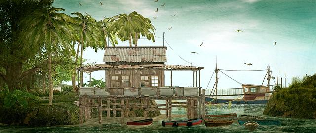 suaka-another fishing shack