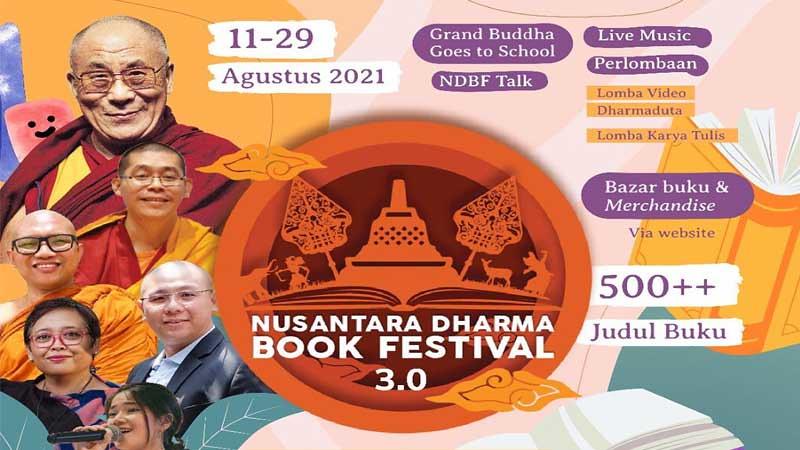 Y.M. Dalai Lama Akan Hadiri NDBF 3.0 Secara Virtual