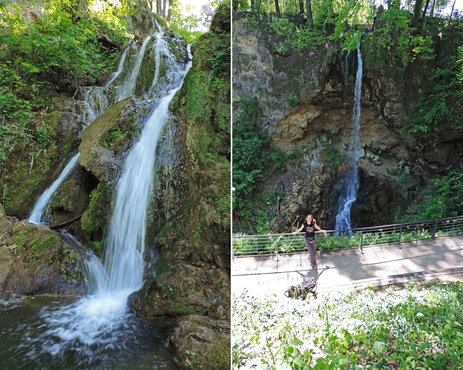 Lillafüred waterfall, Hungary