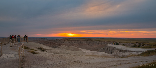 Sunset Party at the Badlands