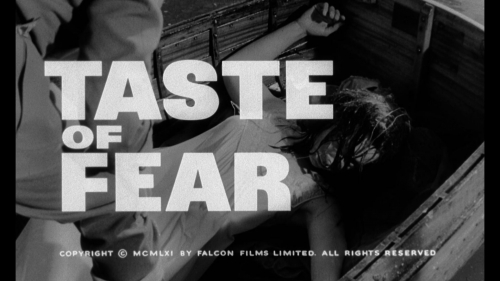 Taste of Fear / Scream of Fear (Seth Holt, 1961) - image titre du film