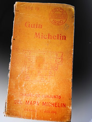 Guia Michelin, España, 1920. Portada. Archivo Jose Luis Pajares. ÁVILA EN LAS PRIMERAS GUIAS AUTOMOVILISTAS