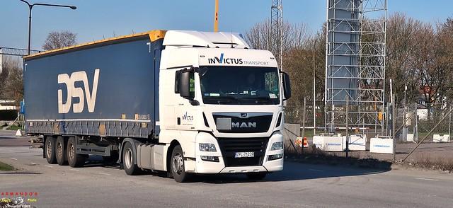 MaN (PL239) Invictus Transport - DSV