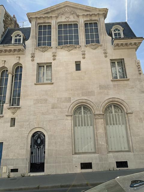 2021.06.15.022 PARIS - Rue Cassini hôtel Czernichowski (1903)